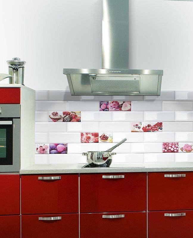 Декор фартука на кухне