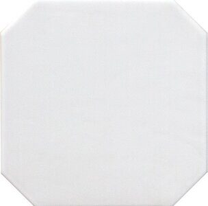 Octagon Blanco Mate 20x20