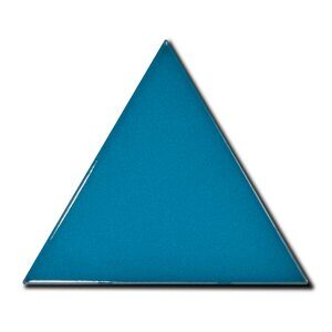 23822 Triangolo Electric blue 10.8x12.4